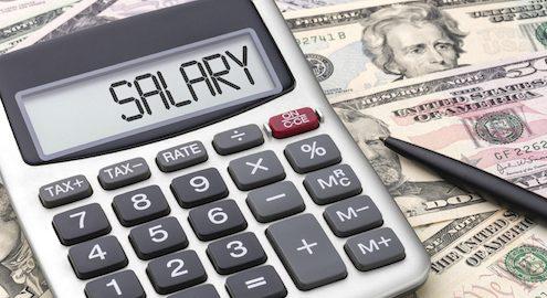 لیست حقوق دستمزد