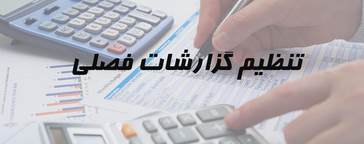 تنظیم گزارش خرید و فروش خدمات مالیاتی شرکت حسابداری