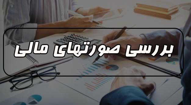خدمات حسابرسی در زمینه بررسی صورت های مالی