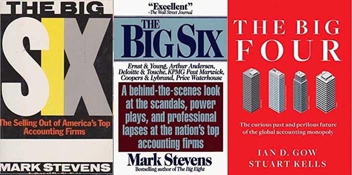 ۳ کتاب برای آشنایی با شرکتهای بزرگ حسابداری جهان