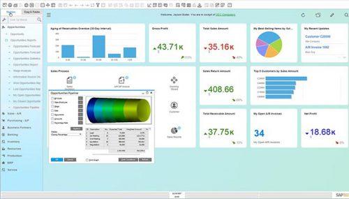 محیط SAP ERP نرم افزار حسابداری
