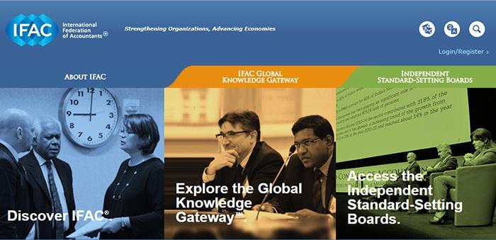 ایندکس سایت رسمی فدراسیون بین المللی حسابداری